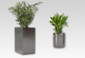 produksi pot tanaman stainless