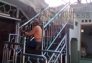 pagar stainless 2