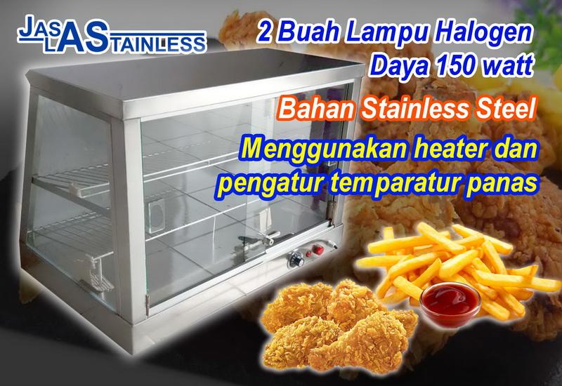 Jual warmer fried chicken di jakarta